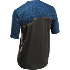 Northwave Enduro MTB Maillot manches courtes Homme, graphite/blue